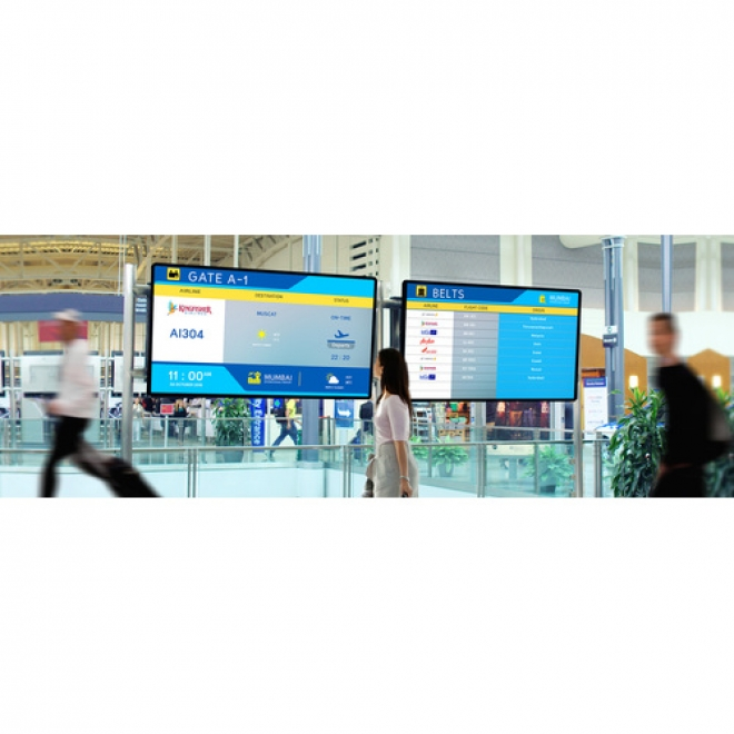 Advantech's Flight Information Display Systems Take Off at Airport in China