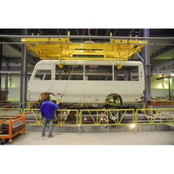 Bus Manufacturers to Realize a Smart Factory