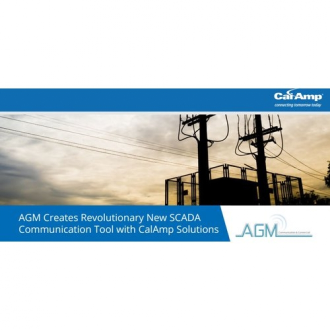 AGM Creates Revolutionary New SCADA Communication Tool with CalAmp Solutions