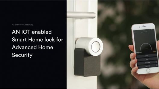 An IoT Enabled Smart Lock for Advanced Home Security
