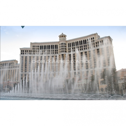 Bellagio Fountains Dance with Echelon Technology
