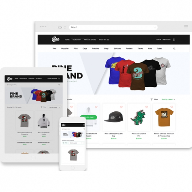 CN Helped Pine Printshop with a Responsive and Top-notch E-commerce Portal