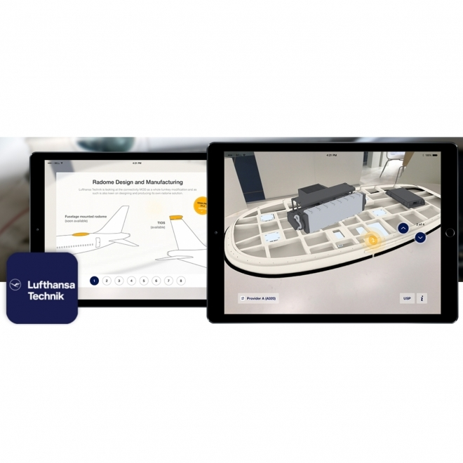Lufthansa Innovates Aviation Demo With Augmented Reality