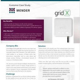 OTA Software Updates for Smart Energy (gridX)