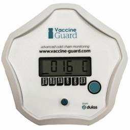 Temperature monitoring for vaccine fridges