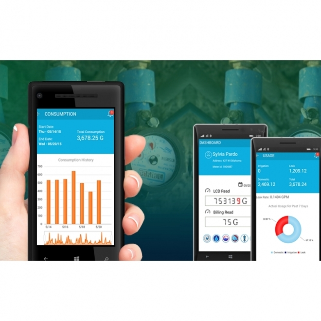 Transforming Water Utilities with IoT, saving a Billion Gallons every year!