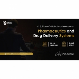 4th Edition of Global Conference on Pharmaceutics and Novel Drug Delivery System