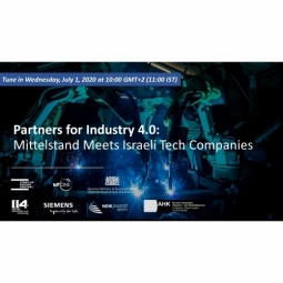 Partners for Industry 4.0: Mittelstand meets Israeli Tech Companies