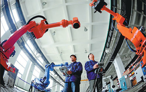 Could Next-Gen Industrial Robots Be Made in China?
