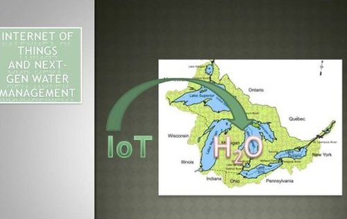 IoT (Internet of Things) and Macro Water Management