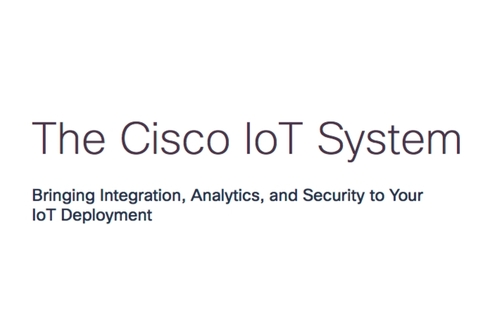 The Cisco IoT System