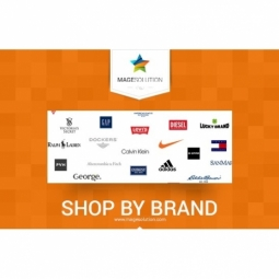 Free Magento Shop by Brand extension