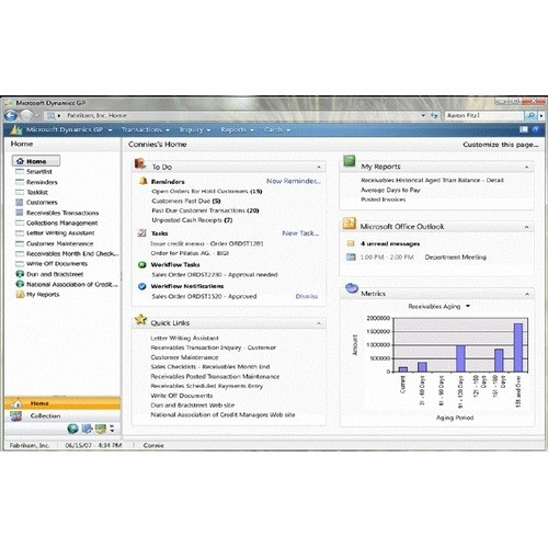 Microsoft Dynamics GP (Great Plains) Software